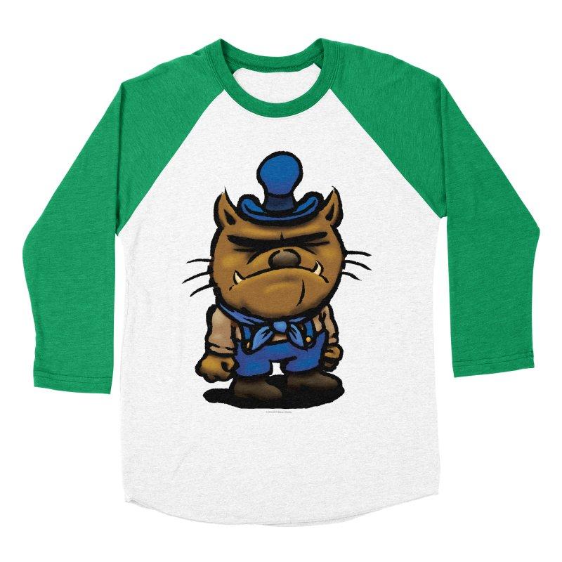 Squirmish Card C03: DAN GRAVY Men's Baseball Triblend Longsleeve T-Shirt by STWALLSKULL's Shirt Shack