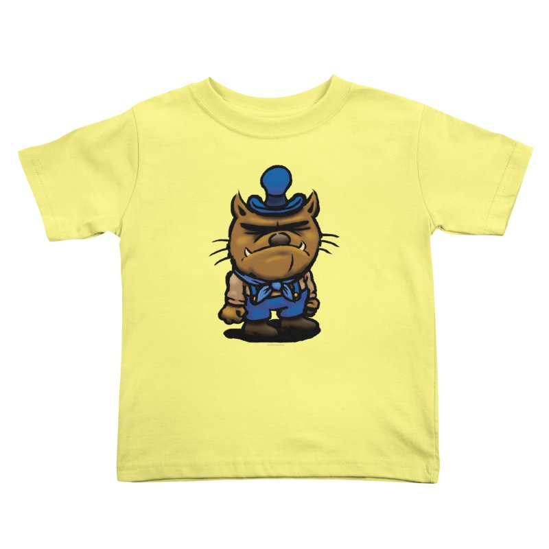Squirmish Card C03: DAN GRAVY Kids Toddler T-Shirt by STWALLSKULL's Shirt Shack