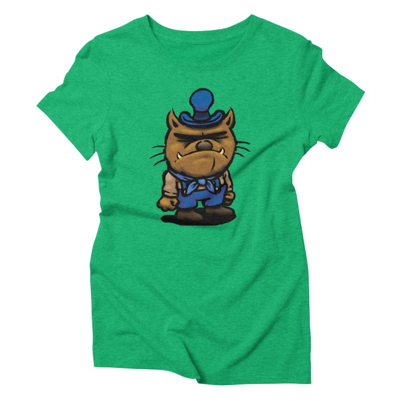 Squirmish Card C03: DAN GRAVY Women's T-Shirt by STWALLSKULL's Shirt Shack