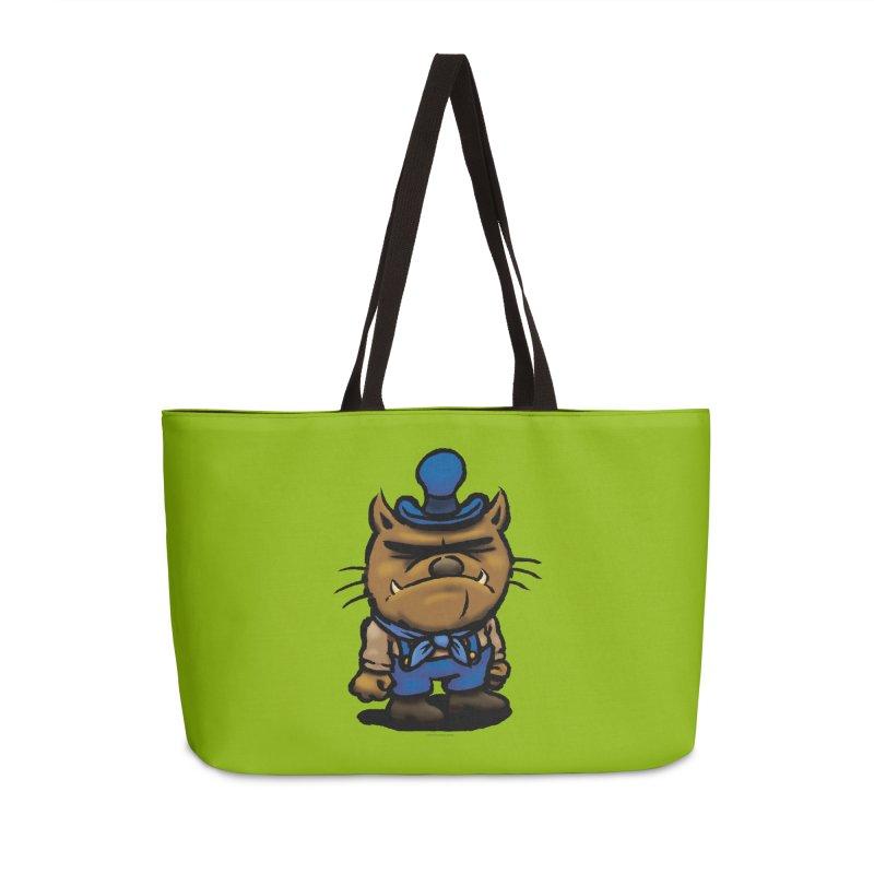 Squirmish Card C03: DAN GRAVY Accessories Weekender Bag Bag by STWALLSKULL's Shirt Shack