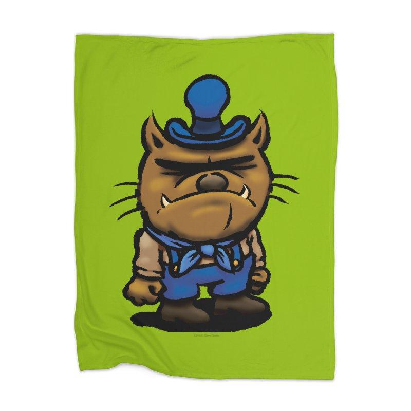Squirmish Card C03: DAN GRAVY Home Blanket by STWALLSKULL's Shirt Shack