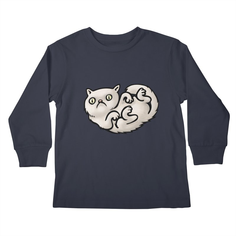 WHACHULOOKINAT? Kids Longsleeve T-Shirt by STWALLSKULL's Shirt Shack