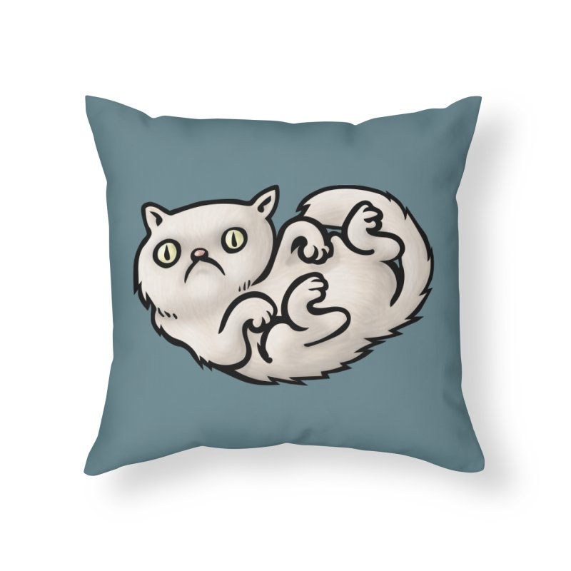WHACHULOOKINAT? Home Throw Pillow by STWALLSKULL's Shirt Shack
