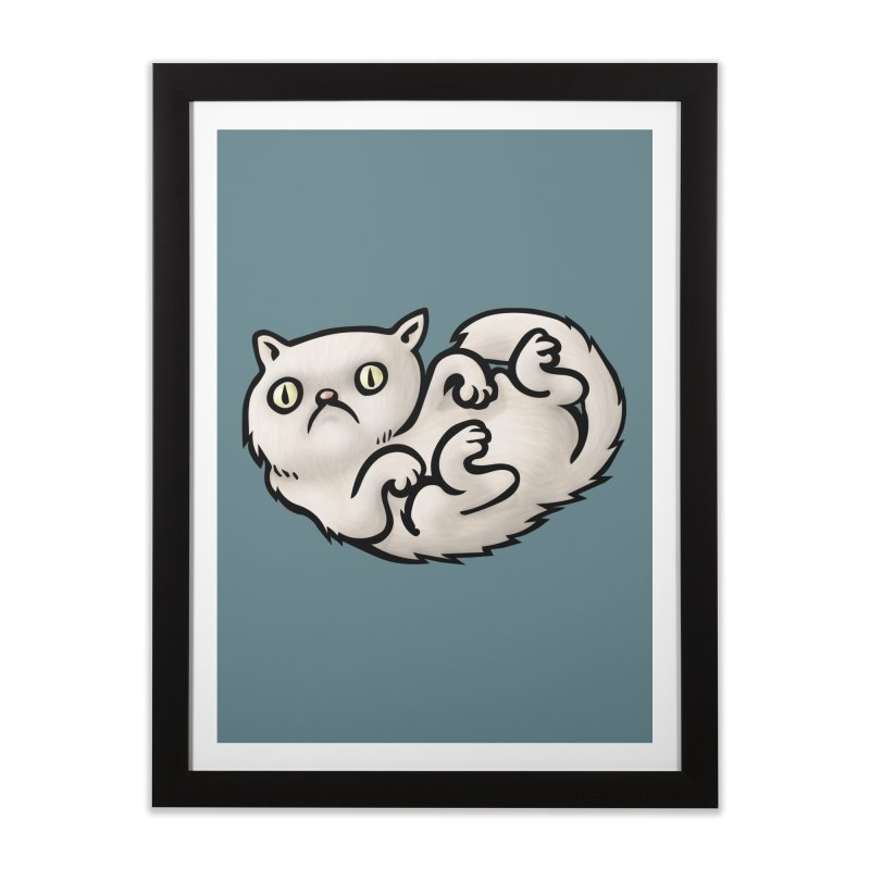 WHACHULOOKINAT? Home Framed Fine Art Print by STWALLSKULL's Shirt Shack