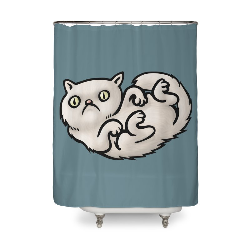 WHACHULOOKINAT? Home Shower Curtain by STWALLSKULL's Shirt Shack