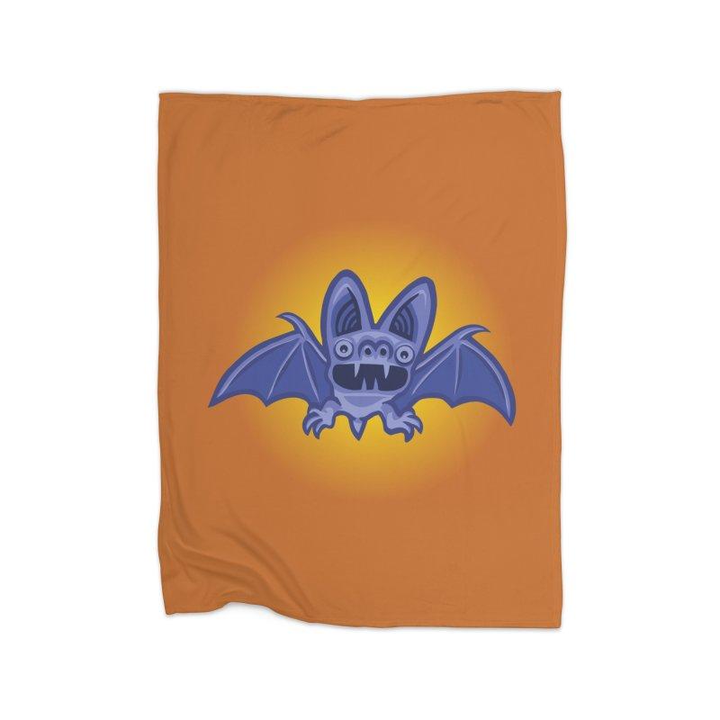 Bat Atcha Home Blanket by STWALLSKULL's Shirt Shack