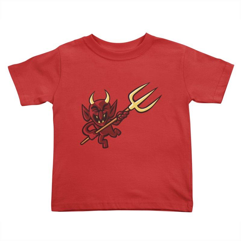 Hellzapoppin' Kids Toddler T-Shirt by STWALLSKULL's Shirt Shack