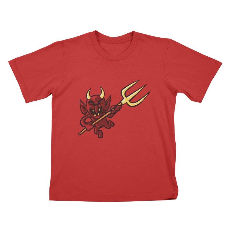 Hellzapoppin' Kids T-Shirt by STWALLSKULL's Shirt Shack