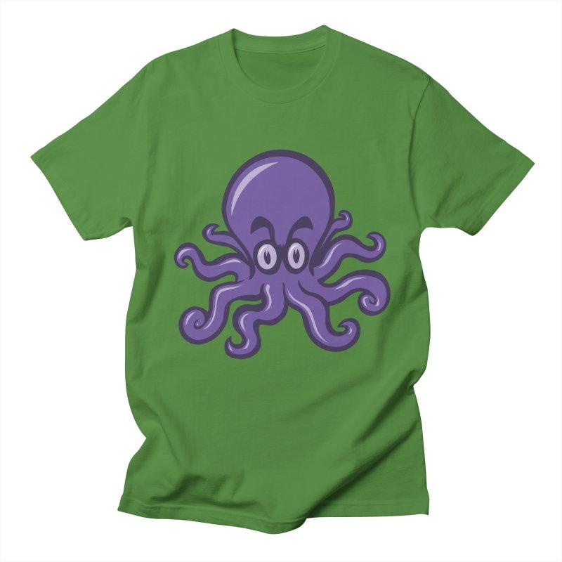 OCTOPISSED Men's T-Shirt by STWALLSKULL's Shirt Shack