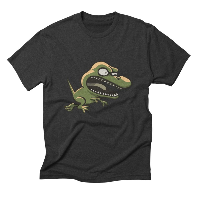 TERRIBLE LIZARD Men's Triblend T-Shirt by STWALLSKULL's Shirt Shack
