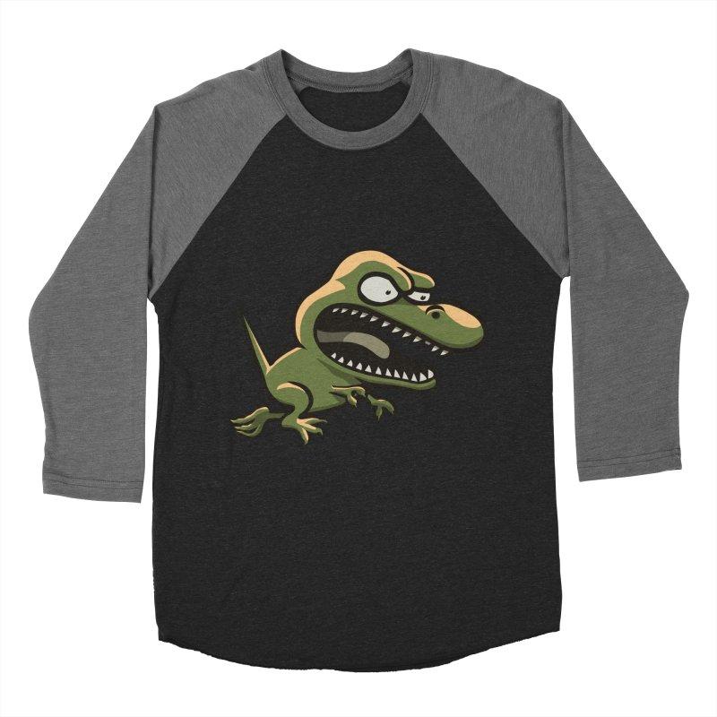 TERRIBLE LIZARD Men's Baseball Triblend T-Shirt by STWALLSKULL's Shirt Shack