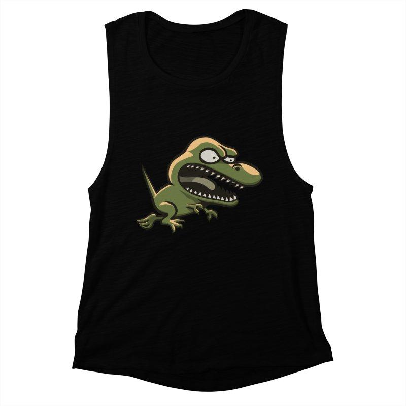 TERRIBLE LIZARD Women's Muscle Tank by STWALLSKULL's Shirt Shack