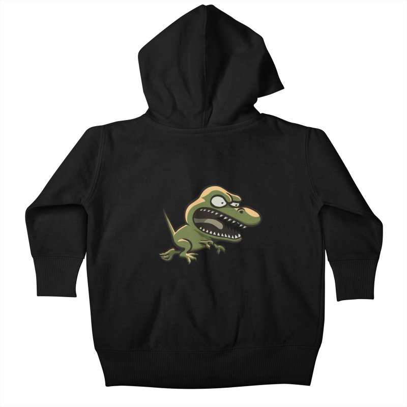 TERRIBLE LIZARD Kids Baby Zip-Up Hoody by STWALLSKULL's Shirt Shack