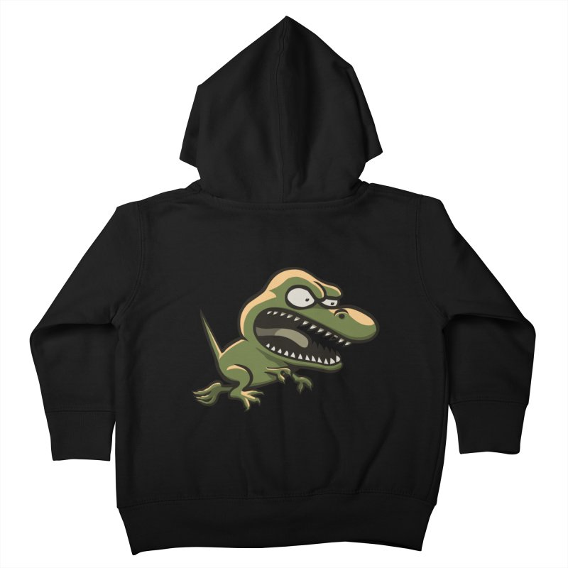 TERRIBLE LIZARD Kids Toddler Zip-Up Hoody by STWALLSKULL's Shirt Shack