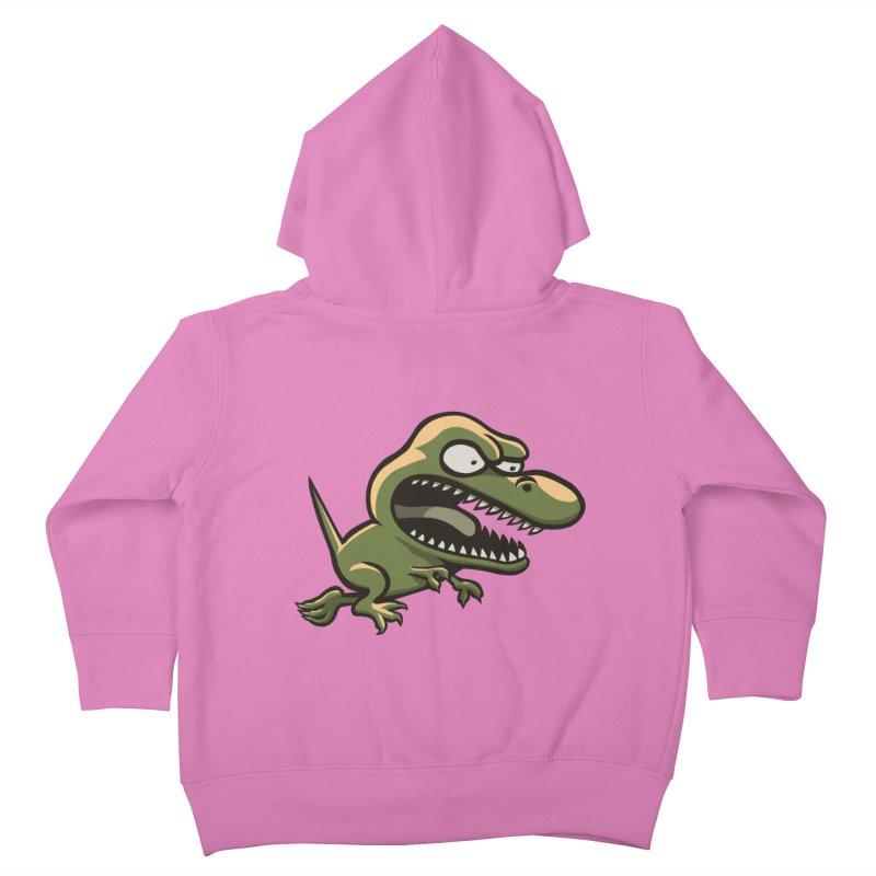 TERRIBLE LIZARD Kids Toddler Zip-Up Hoody by STWALLSKULL's Shirt Shack