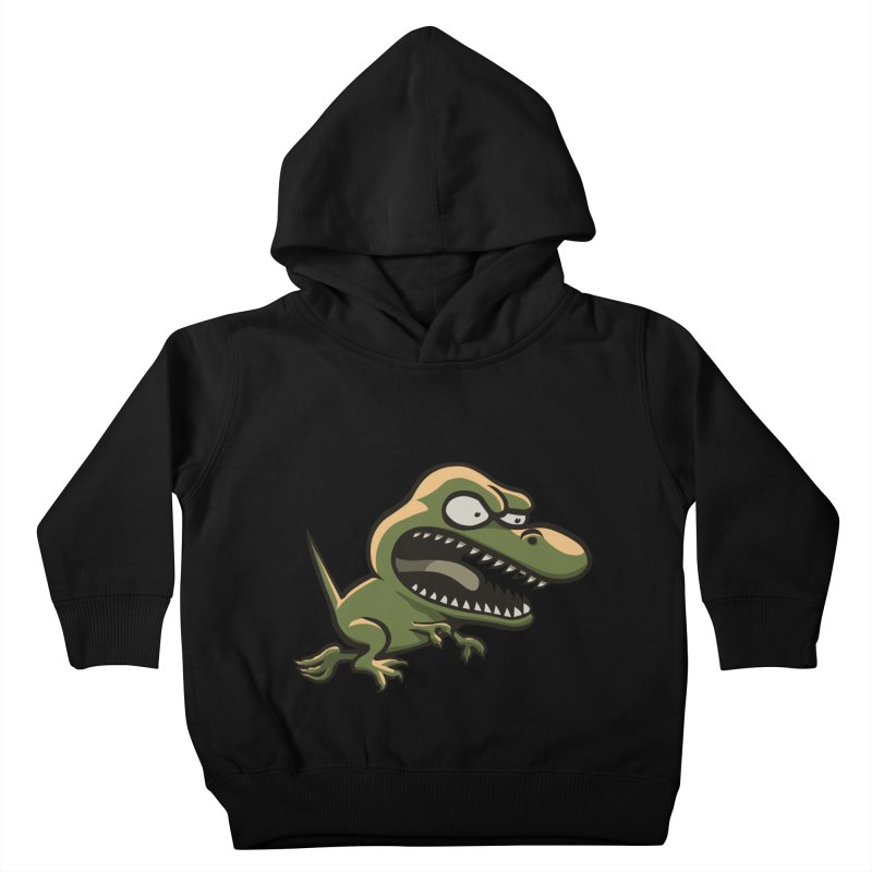 TERRIBLE LIZARD Kids Toddler Pullover Hoody by STWALLSKULL's Shirt Shack