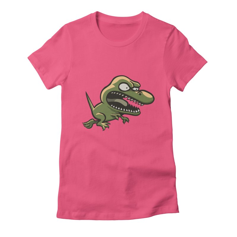 TERRIBLE LIZARD Women's Fitted T-Shirt by STWALLSKULL's Shirt Shack