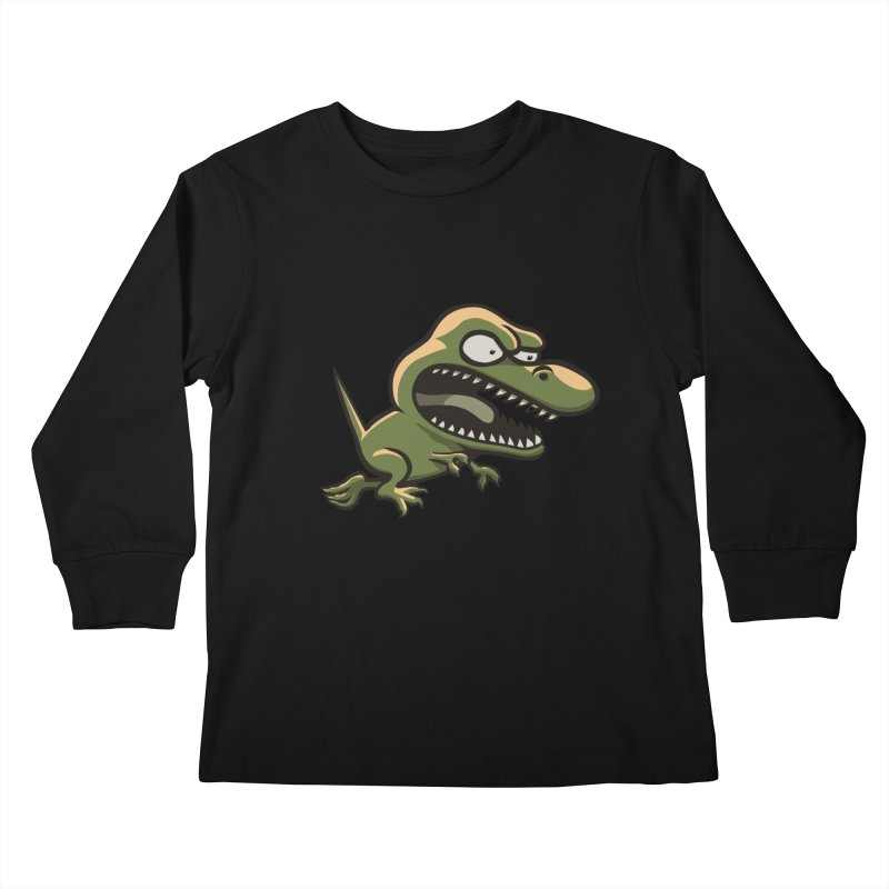 TERRIBLE LIZARD Kids Longsleeve T-Shirt by STWALLSKULL's Shirt Shack