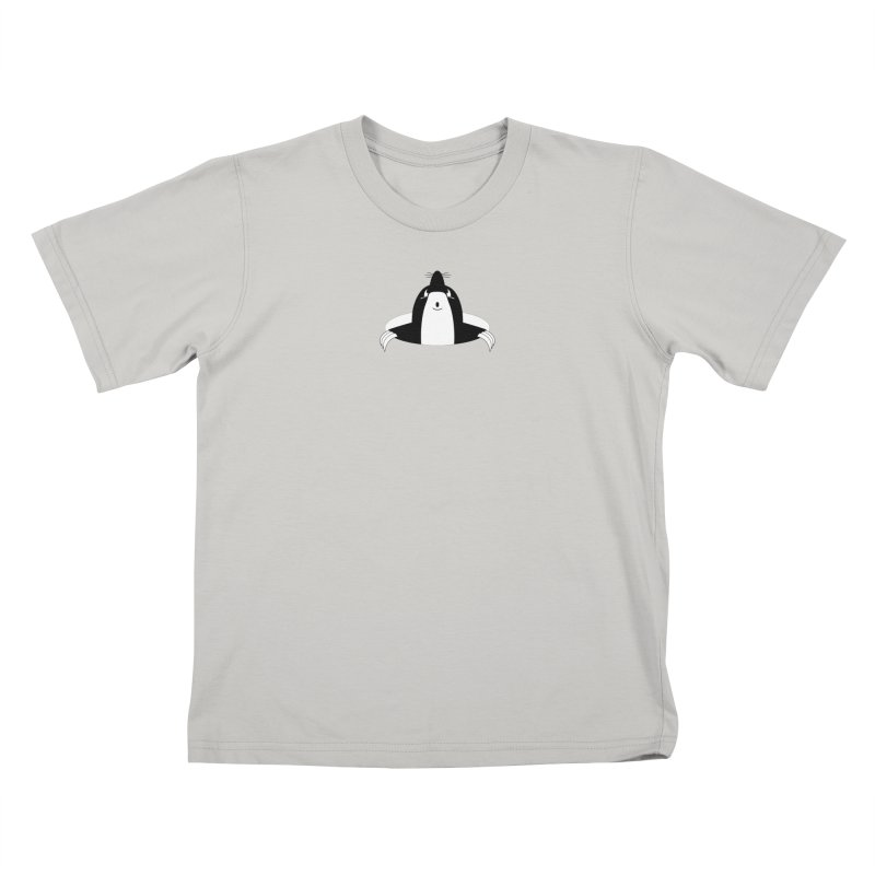 looking up (to you) in Kids T-Shirt Stone by stylebot