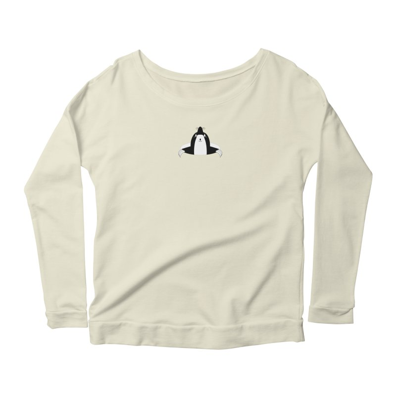 looking up (to you) Women's Scoop Neck Longsleeve T-Shirt by stylebot
