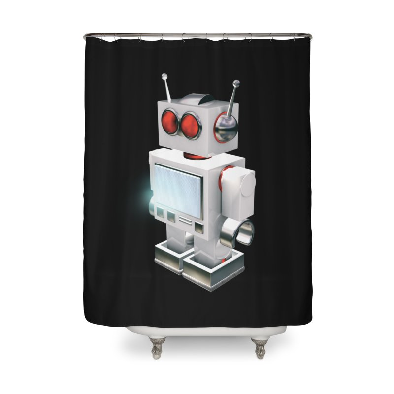Roberta Home Shower Curtain by stylebot