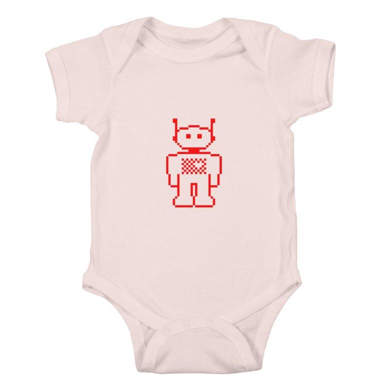 Pixibot Kids Baby Bodysuit by stylebot