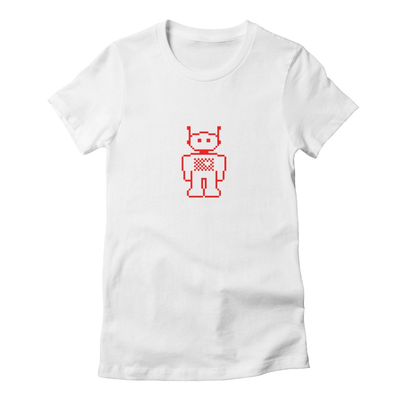 Pixibot Women's Fitted T-Shirt by stylebot
