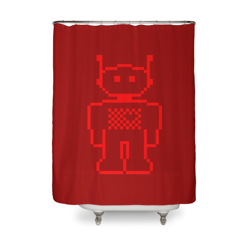 Pixibot Home Shower Curtain by stylebot