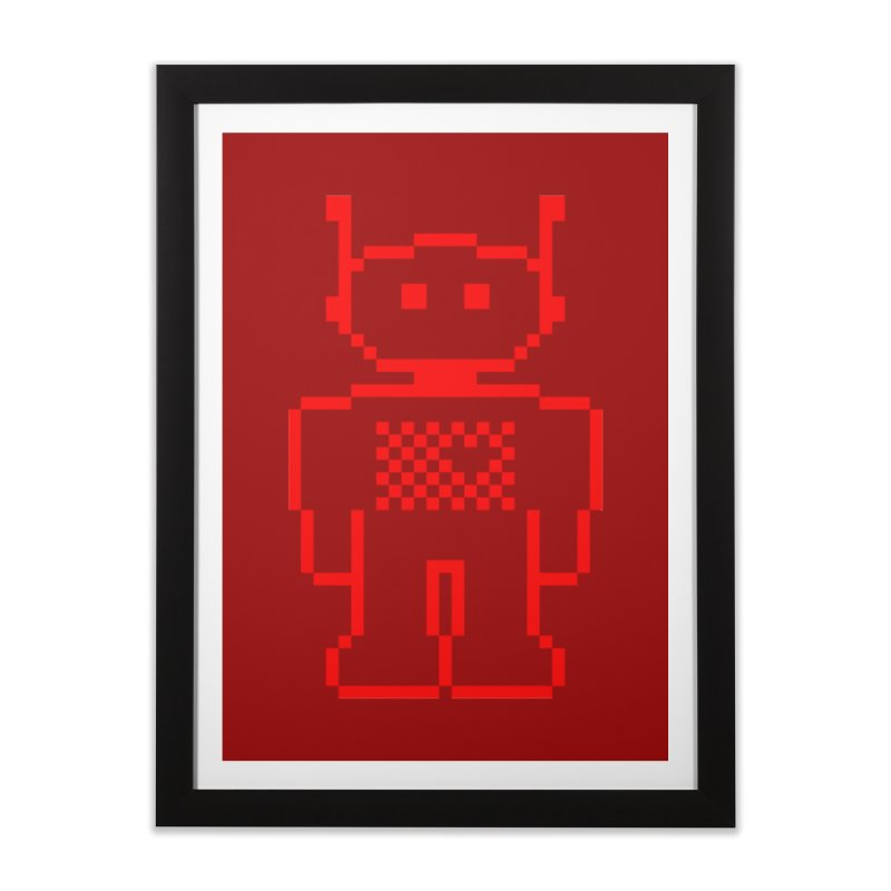 Pixibot Home Framed Fine Art Print by stylebot