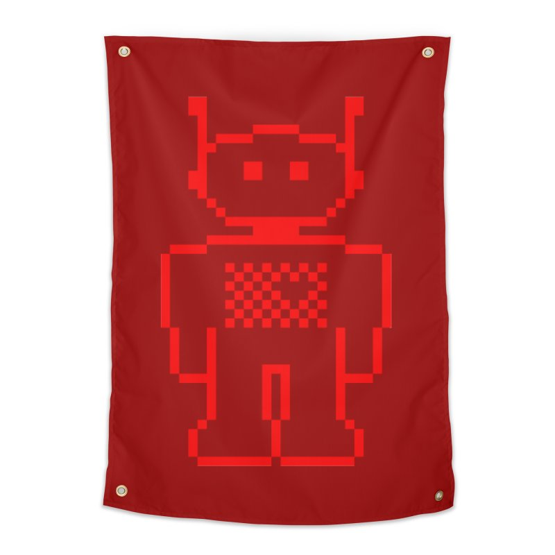 Pixibot Home Tapestry by stylebot