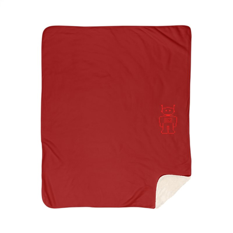 Pixibot Home Sherpa Blanket Blanket by stylebot