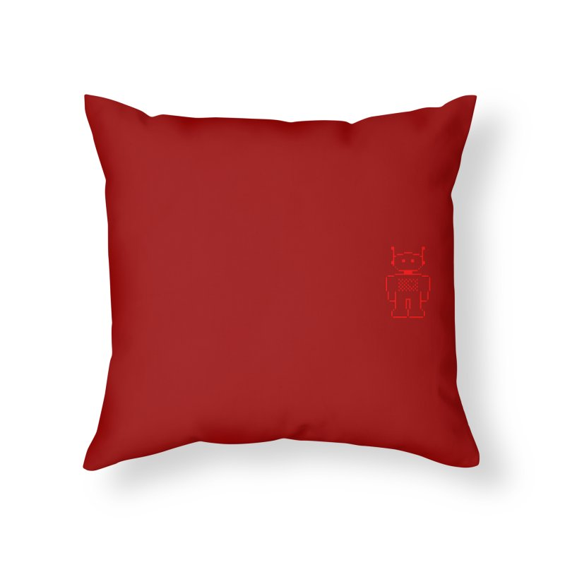 Pixibot Home Throw Pillow by stylebot