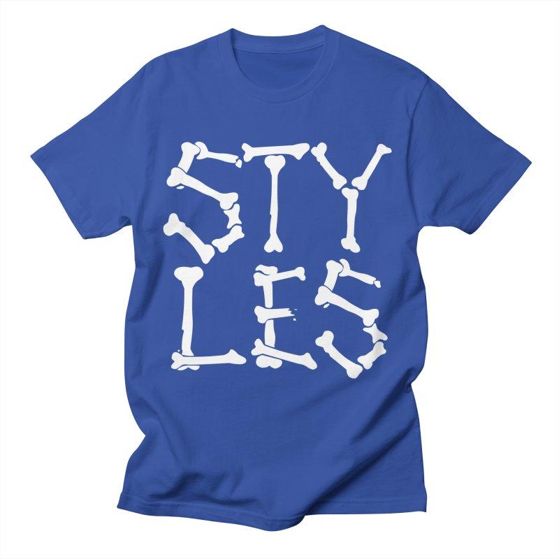 Styles in Bones Men's T-Shirt by Styles in Black