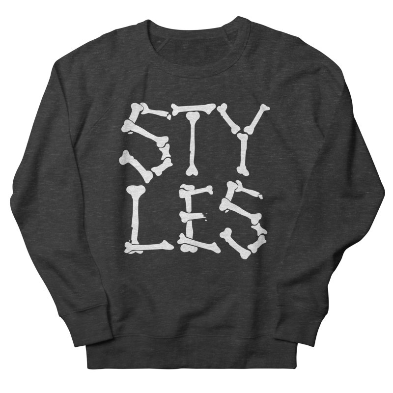 Styles in Bones Women's Sweatshirt by Styles in Black