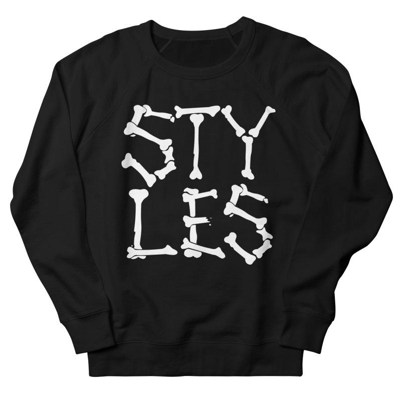 Styles in Bones Men's Sweatshirt by Styles in Black