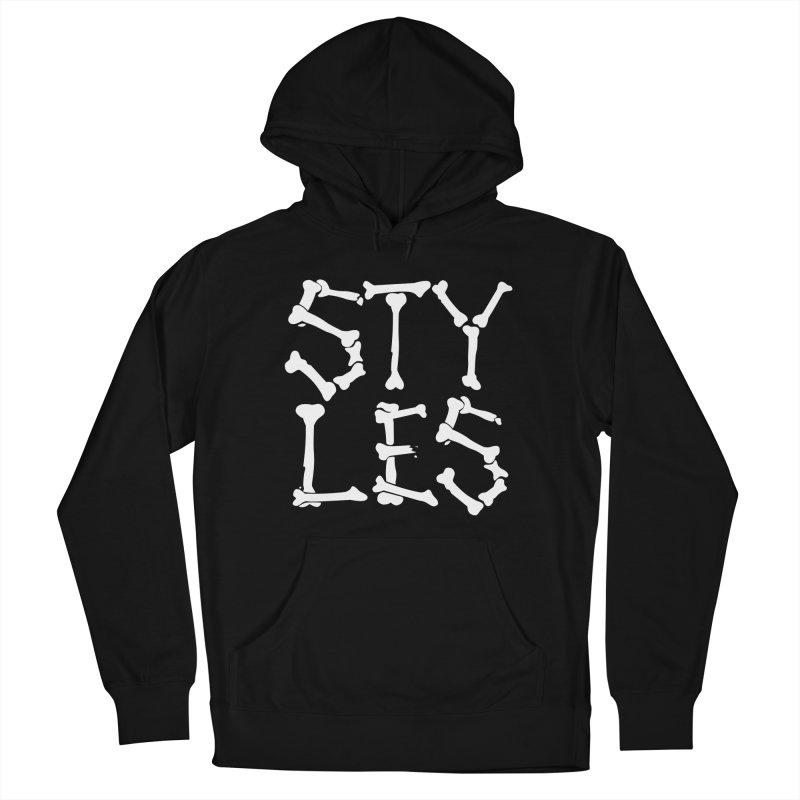 Styles in Bones Women's Pullover Hoody by Styles in Black