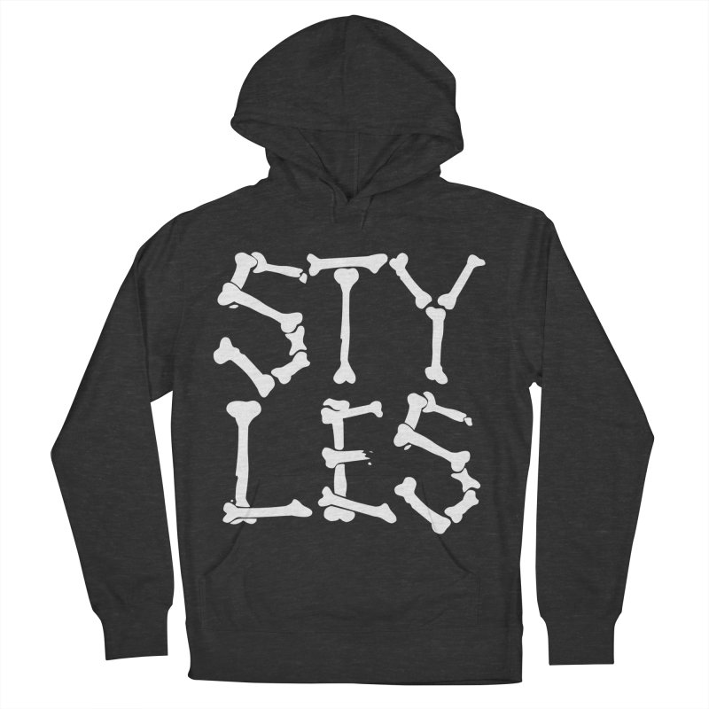 Styles in Bones Women's Pullover Hoody by Styles in Black