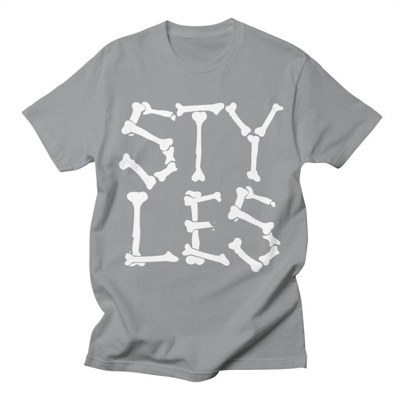 Styles in Bones Men's Regular T-Shirt by Styles in Black