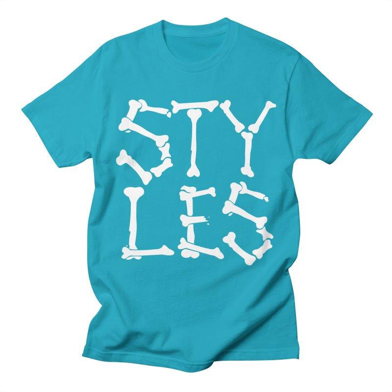 Styles in Bones Women's Unisex T-Shirt by Styles in Black