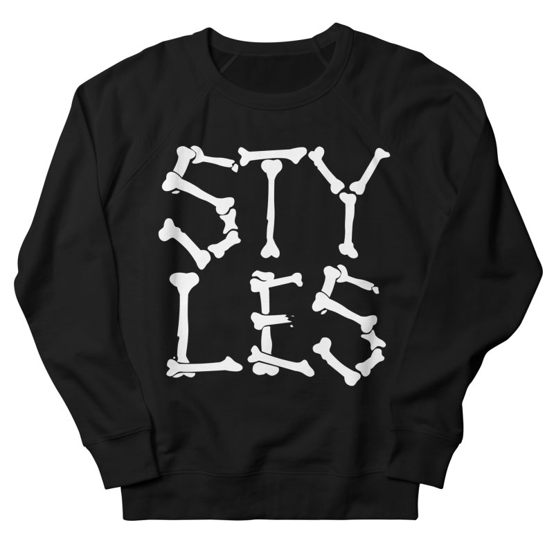 Styles in Bones Men's Sweatshirt by Styles in Black