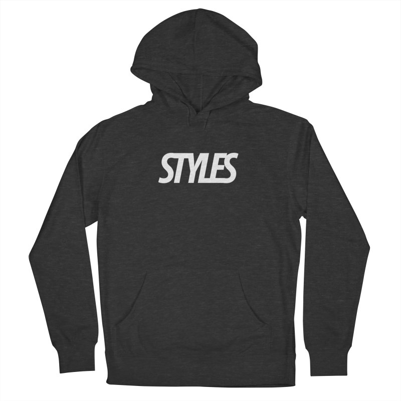Styles in Black Logo Men's French Terry Pullover Hoody by Styles in Black