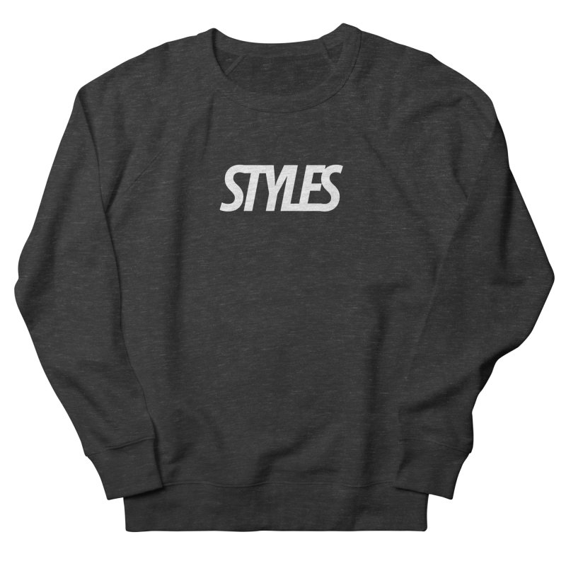 Styles in Black Logo Men's French Terry Sweatshirt by Styles in Black