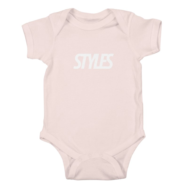 Styles in Black Logo Kids Baby Bodysuit by Styles in Black
