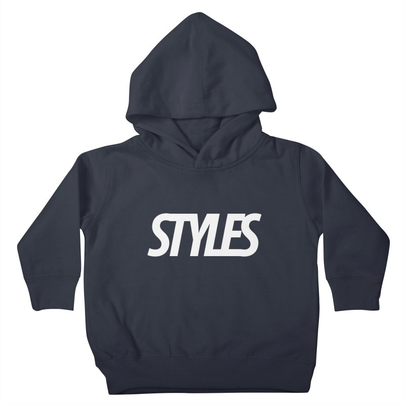 Styles in Black Logo Kids Toddler Pullover Hoody by Styles in Black