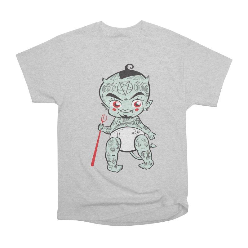 Little devil Men's T-Shirt by monoestudio's Artist Shop