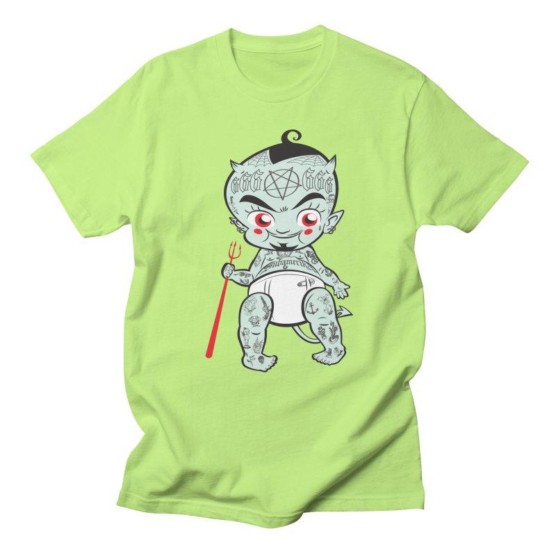 Little devil Men's Regular T-Shirt by monoestudio's Artist Shop