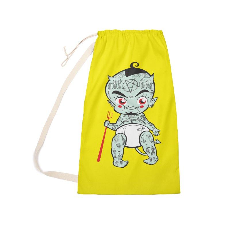 Little devil Accessories Bag by monoestudio's Artist Shop