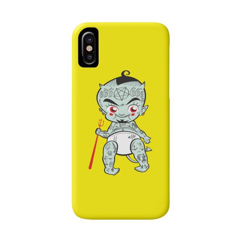 Little devil Accessories Phone Case by monoestudio's Artist Shop