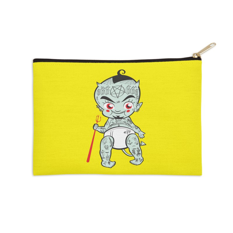 Little devil Accessories Zip Pouch by monoestudio's Artist Shop