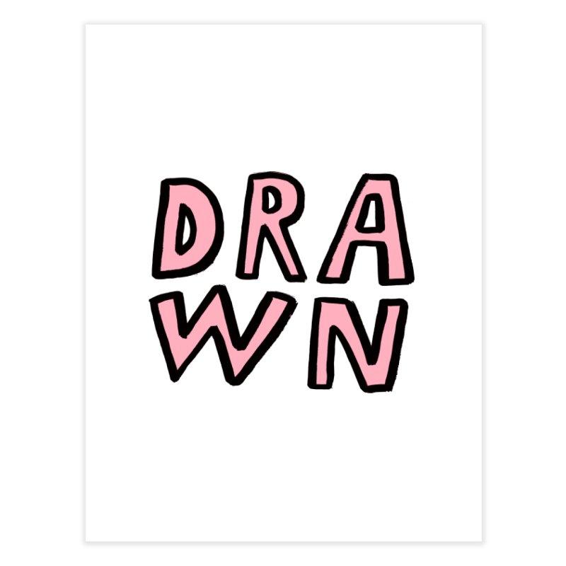Drawn Home Fine Art Print by